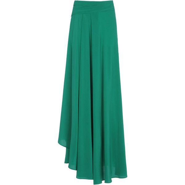 Long Green Skirt 92