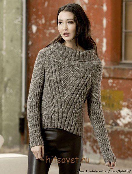 Модный свитер для женщин. Обсуждение на LiveInternet - Российский Сервис Онлайн-Дневников