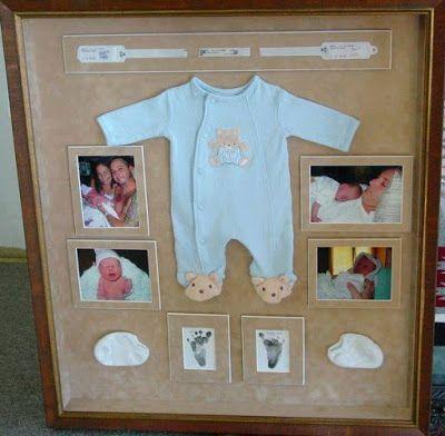 10 Ideas para Guardar los Recuerdos de tu Bebe en un Marco