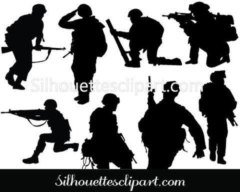 Soldier Vector Graphics