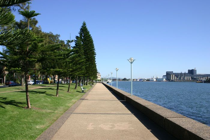 A Pathway Next to Newcastle Harbour Visit us on http://www.belledental.com.au/