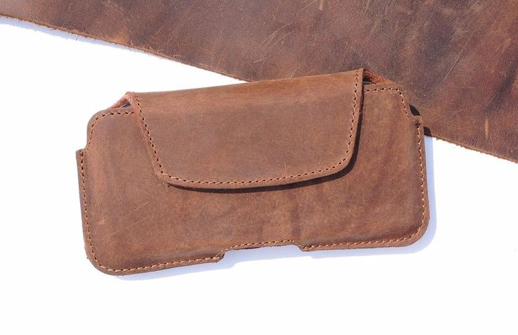Berlose Vintage Handytasche Echt Leder Gürtel Tasche, Farbe Braun | eBay