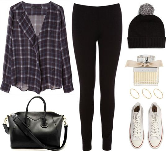 Plaid tops in Autumn!! Would you wear this? Tell us what you think!  #SterlingandHydeStyleIcon