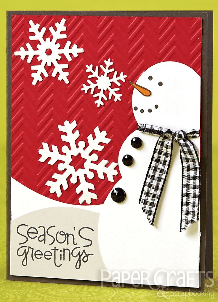 Katie Gehring - Paper Crafts & Scrapbooking Card Creations, Vol. 12: card making, holiday, snowman