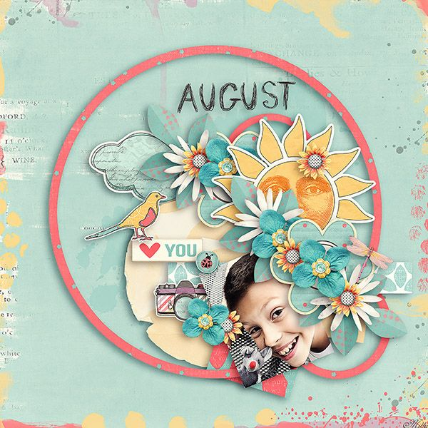 Capturing Life: August Designs by Blagovesta template Lemon Soda freebie2 by Eudora Designs