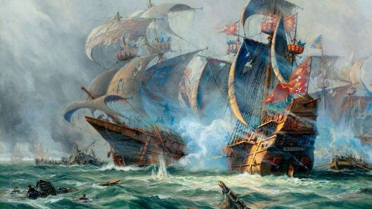 Sailing SHIP Painting