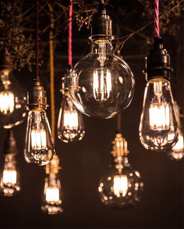 Light Fixture Chandelier Lighting LED Lamp Edison Screw