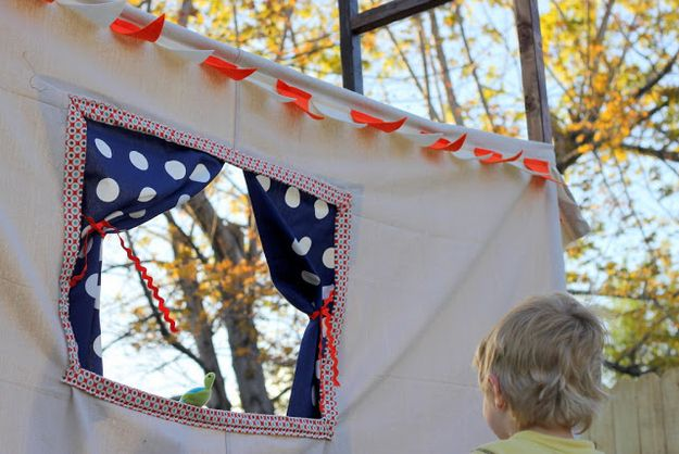 Put on a puppet show.   The Ultimate Summer Bucket List For Bored Kids