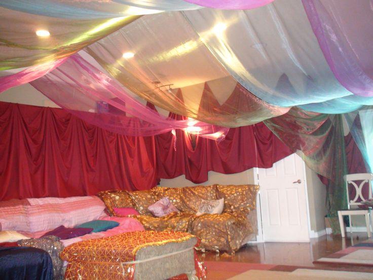 Arabian party decorations