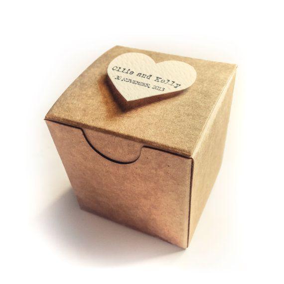 Handmade Grocer bag Favor box - handmade - Natural wedding - paper goods - Rustic wedding favor - Kraft wedding favor on Etsy, $1.10