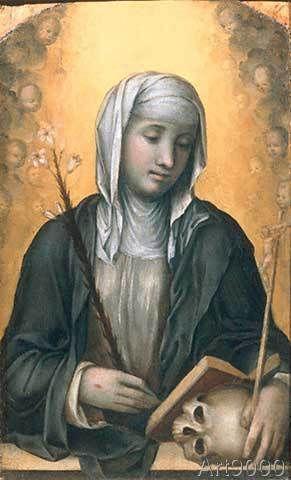 Giovanni+Antonio+Bazzi+Sodoma+-+Die+Heilige+Katharina+von+Siena