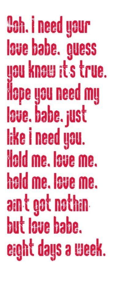 Best Love Song Lyrics | ... Week - song lyrics, song quotes, music lyrics, music quotes, songs