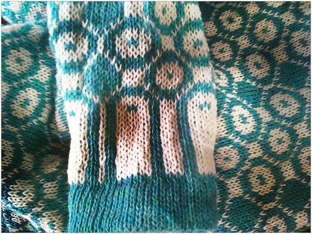 Striktrøje inspireret af den færøske nationaldragt #Lindberg Knitwear