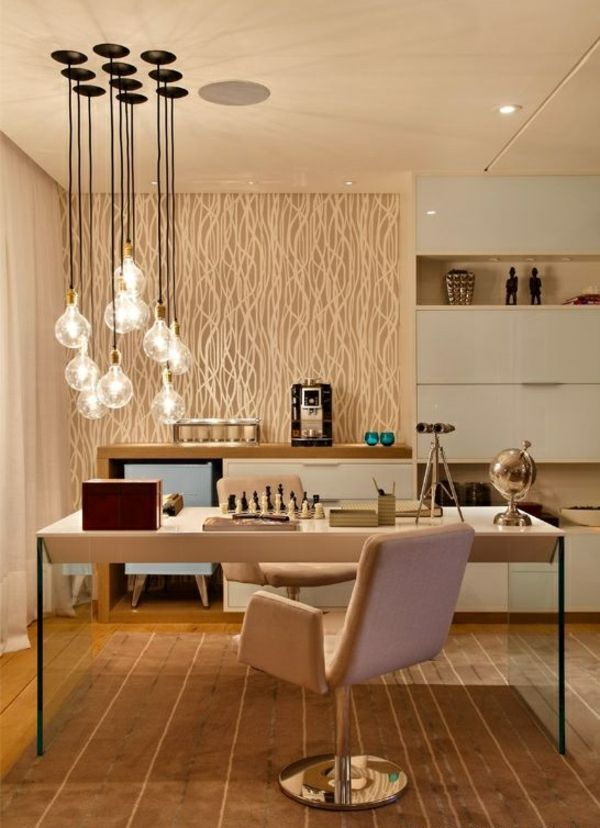 wohnideen wohnzimmer beleuchtungsideen stilvolle pendelleuchten