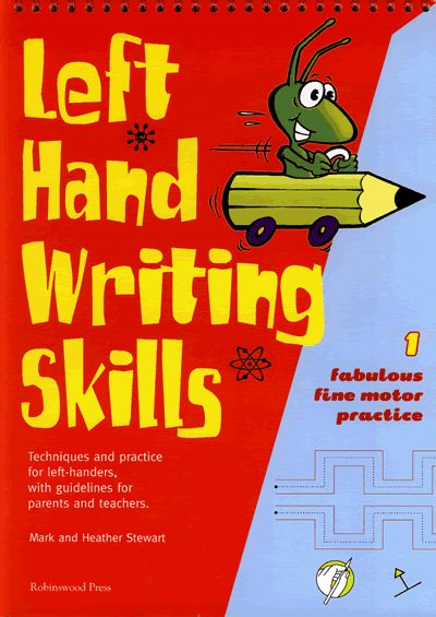 Left hand writing skills - book 1 | Anything Left-Handed