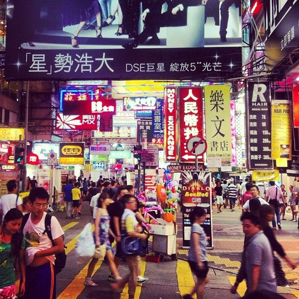 Hunting barang vintage di Mongkok Market #BebasLiburan