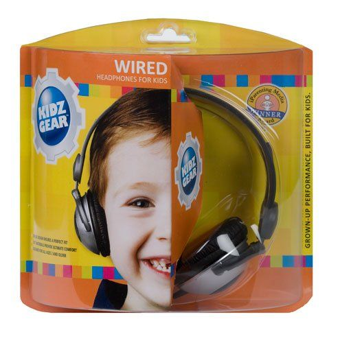 These are perfect for toddlers, designed to not get too loud so they don't damage hearing. Your kid can listen to Yo Gabba Gabba to his heart's content and your fellow travelers can browse their copy of SkyMall in peace.