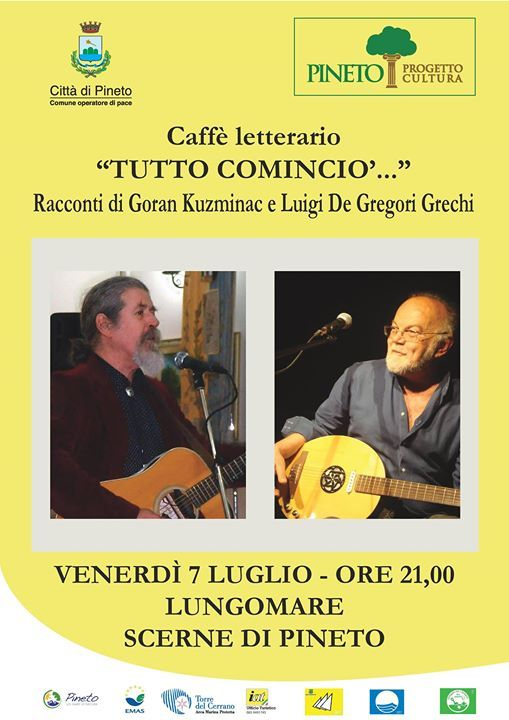 Caffè Letterario Visit Pineto | Eventi Teramo #eventiteramo #eventabruzzo