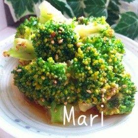 やみつき♡簡単すぎるブロッコリーのナムル by ♡♡♡Mari♡♡♡ [クックパッド] 簡単おいしいみんなのレシピが262万品