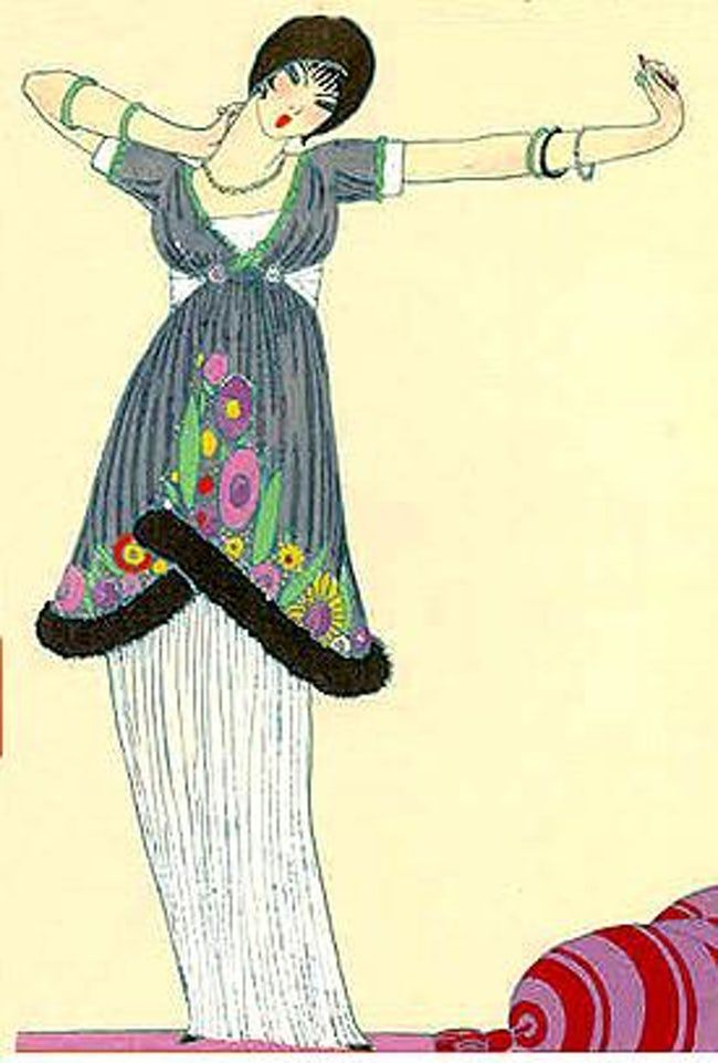 Famous Fashion Designers From France Paul Poiret Art Deco Fashion Fashion Designers Famous