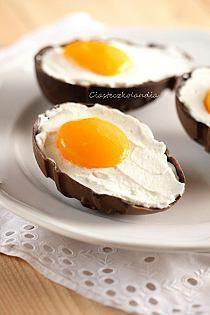 Ciasteczka niczym jajeczka :D