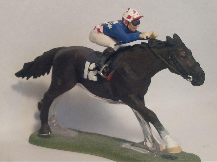 Schleich Racehorse Customized As Makybe Diva Schleich