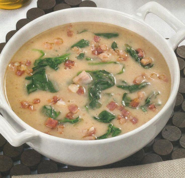 Sopa de Feijão-Manteiga - http://www.receitassimples.pt/sopa-de-feijao-manteiga/