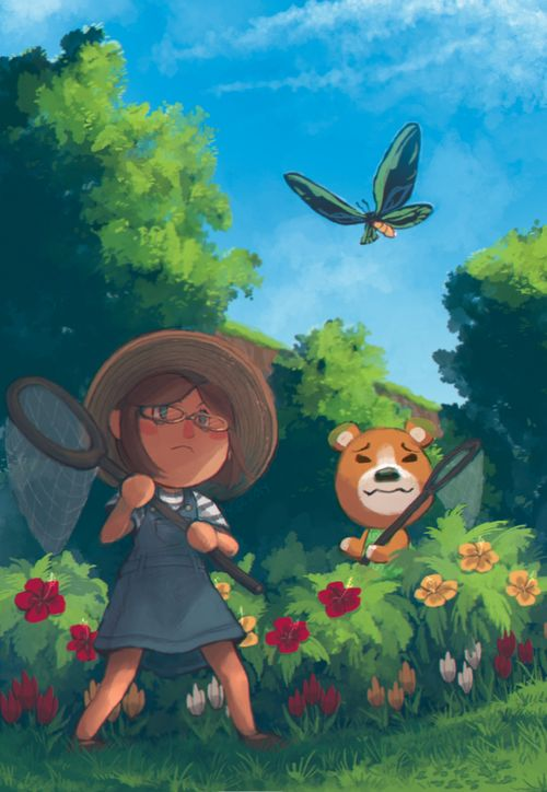 17 best images about animal crossing on pinterest animal for Animal crossing mural