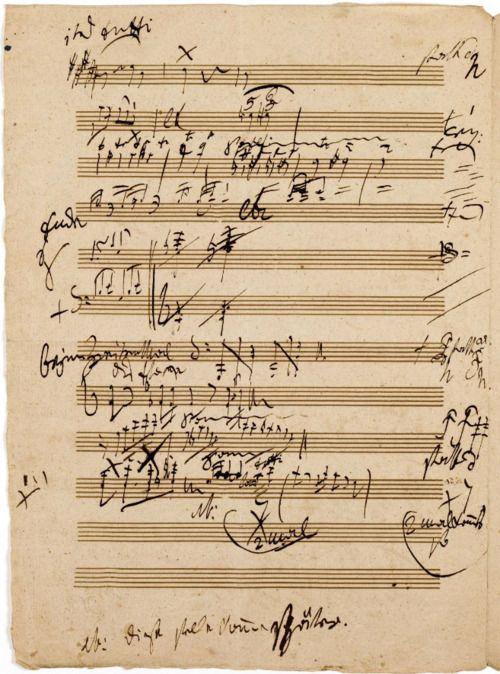 Beethoven�s Manuscript