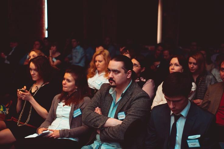"""Михаил Белошапка, генеральный директор """"Далее"""", на конференции Digital для телекома."""