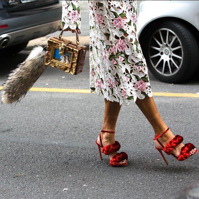 Ultra luxe Street Style - Milan Fashion Week