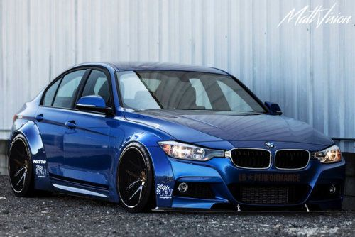 BMW F30 LibertyWalk ( Imagination) I want me if this really