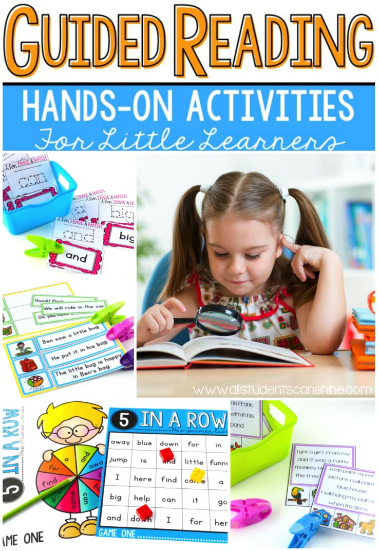 Guided Reading Games This post is FULL of ideas and activities to work on sight words in guided reading groups. All the games are interactive and are sure to engage even your reluctant learners! SO many ideas for reading comprehension, fluency, sequencing, and sight word assessments :)