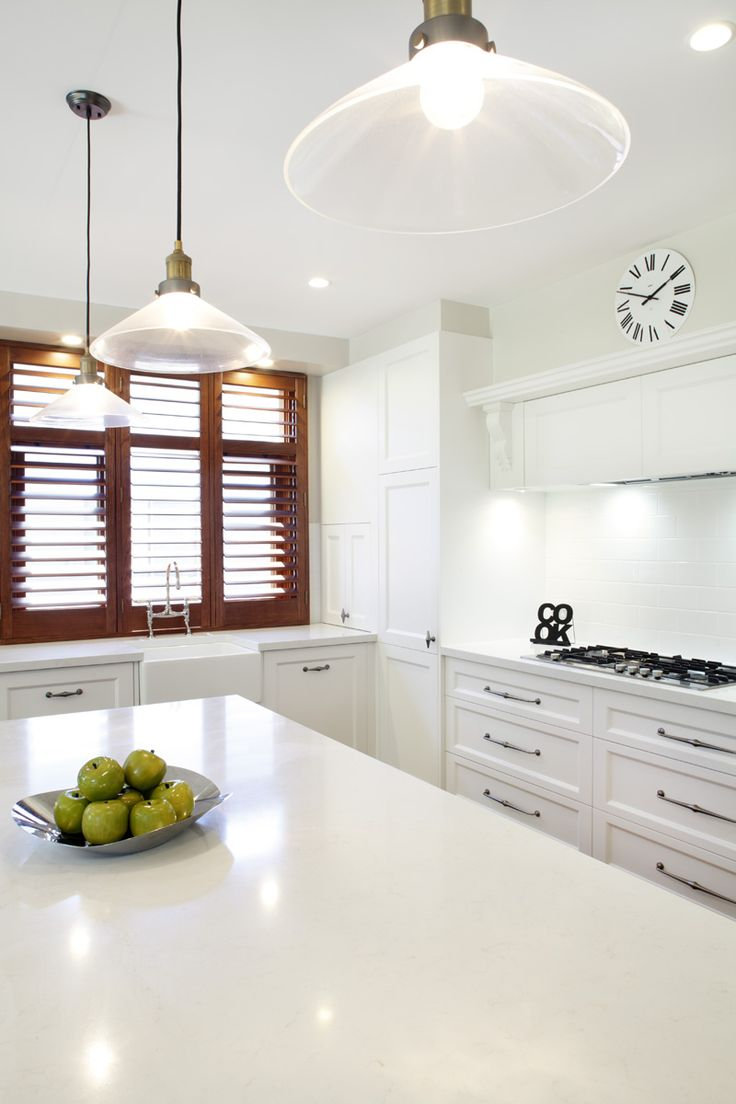 White Caesarstone Kitchen Countertops Part - 31: Frosty Carina In White Kitchen - Yahoo Canada Image Search Results