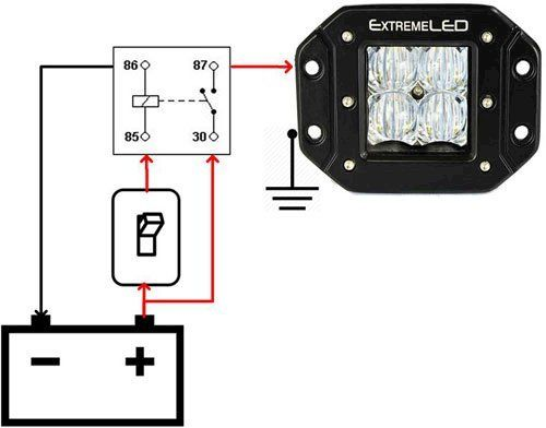 Wire Diagram For Off Road Led Lights - Wiring Diagram Expert on