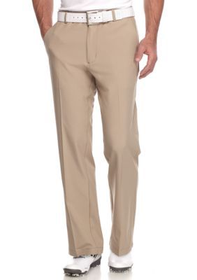 G  Norman Collection Bamboo Classic-Fit Comfort Waist Stretch Pant
