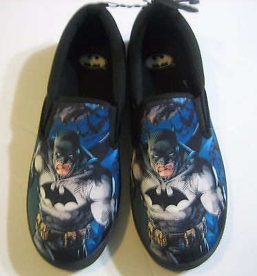 BATMAN SHOES Slip-On Loafers SNEAKERS Casual Superhero Shoes NEW DC Comics - 11: $14.99 End Date: Saturday Apr-7-2018 20:45:12 PDT Buy It…