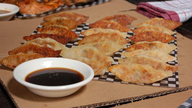 Dumplings de la cabane - un chef a la cabane Martin Picard