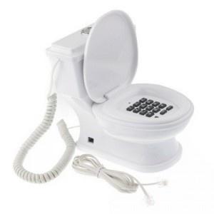 Idée cadeau insolite : Téléphone original WC. A la fois décoratif et utile, celui-ci est un accessoire hors du commun à se procurer de toute urgence. Que ce soit dans votre salon ou dans une chambre, le cadeau insolite par excellence se trouve sur http://www.pinklemon.fr alors n'hésitez plus ! Pinklemon, le zeste d'idée cadeau.