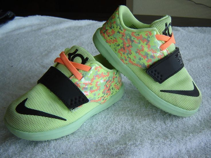 0e2d2b8697 ... new zealand toddler nike kd 7 easter basketball shoes sneakers 8c lime  black sunset glow from ...