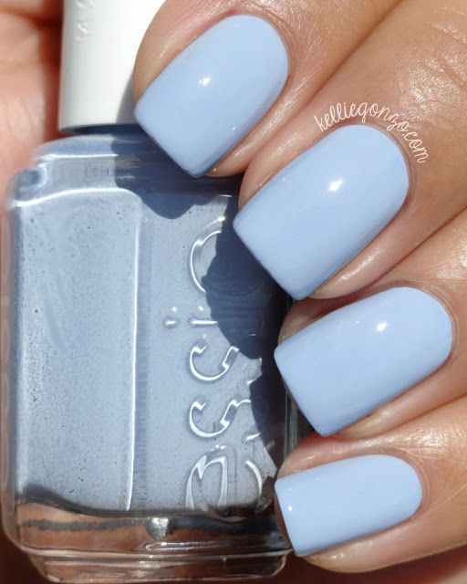 essie saltwater happy, an atlantic blue creme
