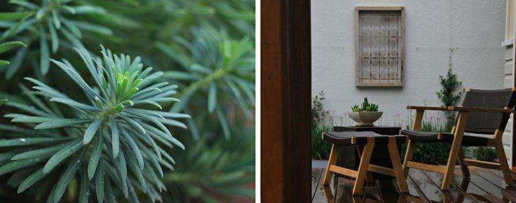 Courtyard furniture