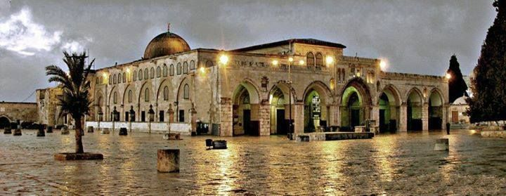 A Beautiful Shot of Al-Aqsa Mosque | مسجد الأقصى
