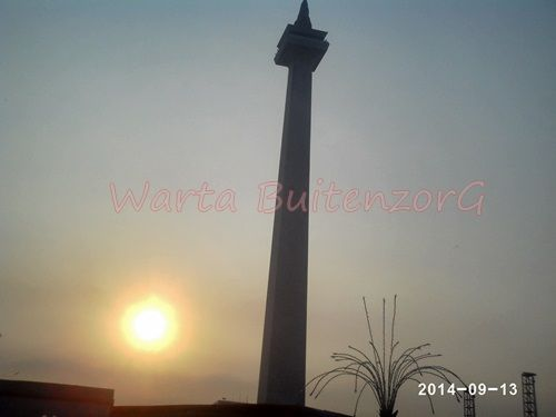 Sunset di Tugu Monas - 4