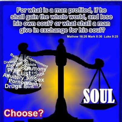 """COST OF A HUMAN SOUL: """"For what profit is it to a man if he gains the whole world, and loses his own soul? Or what will a man give in exchange for his soul?"""" (Matthew 16:26) It means wealth of entire world cannot redeem a soul. Words are inadequate to describe the immeasurable value of a soul. The Bible says in Luke 19:10, """"For the Son of man is come to seek and to save that which was lost."""" Read http://www.gotquestions.org/parable-treasure-pearl.html"""