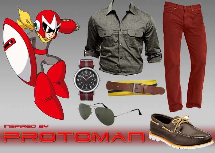 Outfit inspired by Proto Man (Mega Man)