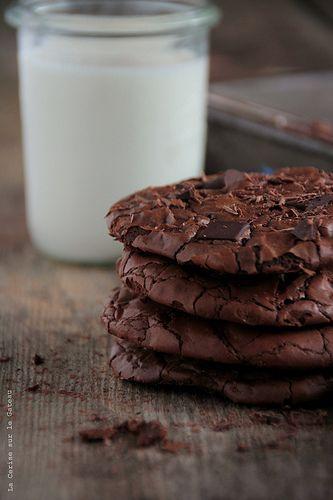 chocolate brownie cookies...