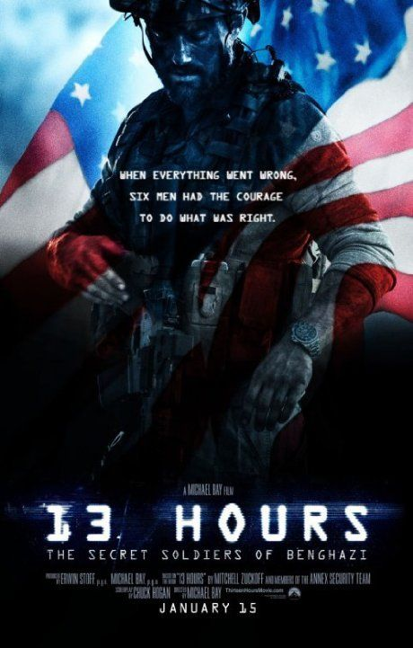 13 HOURS IS A LONG TIME WHEN HELP NEVER COMES  13 Hours: The Secret Soldiers of Benghazi (2016)
