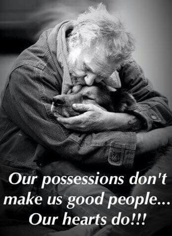 Our possessions...