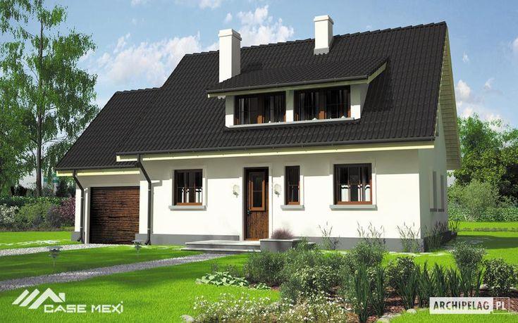 Casa cu mansarda Calineczka G1